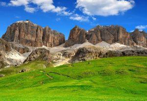 Val di Fassa, le Dolomiti