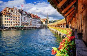 Svizzera, panoramica su Lucerna