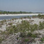 Fornovo, il letto del fiume Taro