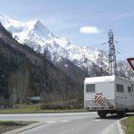 Chamonix, rotonda d'accesso al paese
