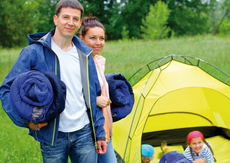Grandi emozioni anche in una piccola tenda