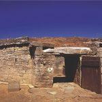 Lazio, necropoli di San Cerbore  nel parco archeologico di Baratti e Populonia