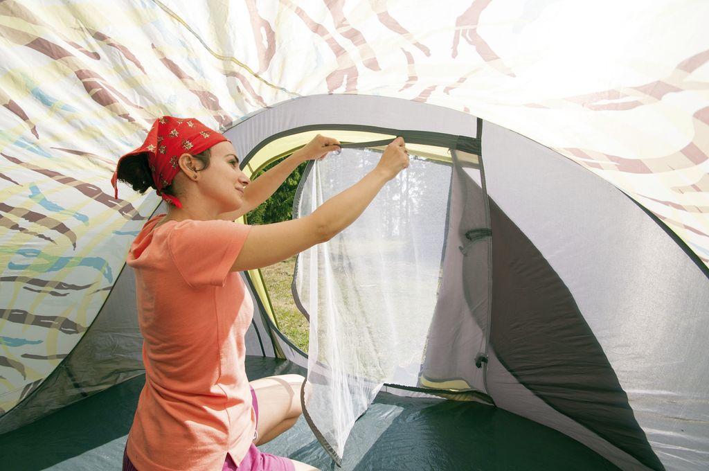 Le nuove tende sono facili da montare