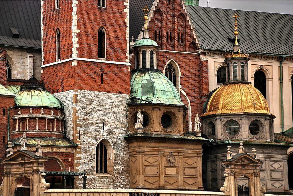 Cracovia, particolare del Castello