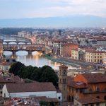 Firenze, vista sul Ponte Vecchio