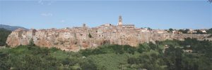 Toscana, Pitigliano, Veduta