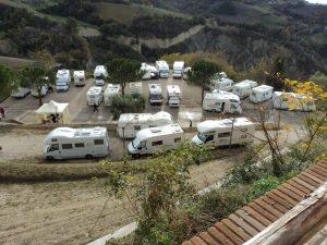 Area sosta Comunale Castignano - Castignano (AP)