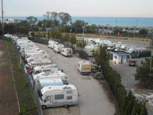 Area sosta di via Napoli - Tortoreto Lido (TE