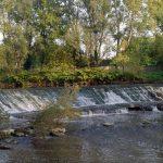 Brianza, il fiume Lambro all'interno del Parco di Monza