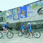 Conca d'Alpago, tappa in bici