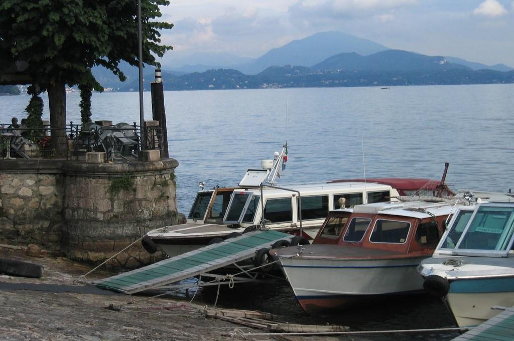 Il Lago maggiore e le sue barche