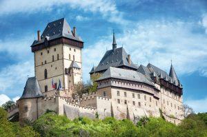 Il castello di Karlstejn