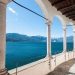 Vista del Lago Maggiore dall'Eremo di Santa Caterina del Sasso