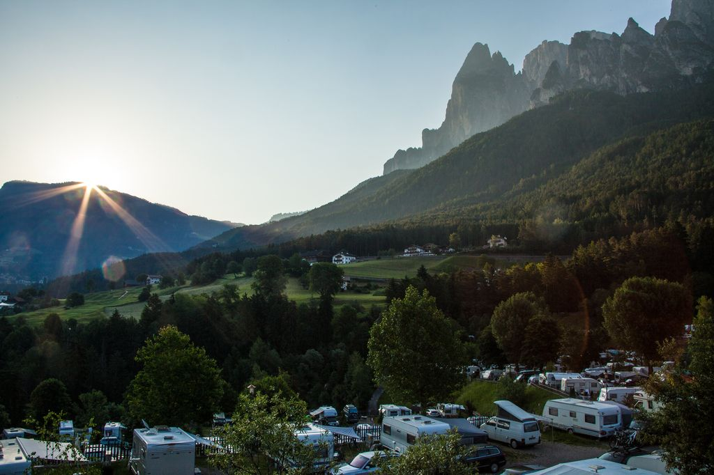 Camping Seiser Alm - Panorama