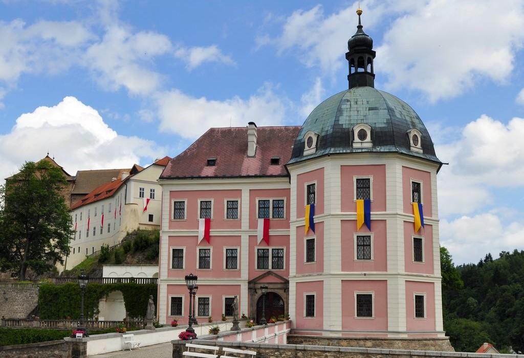 Un palazzo del Castello di Becov nad Teplou