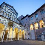 Toscana, Pistoia, la facciata della Cattedrale di San Zeno