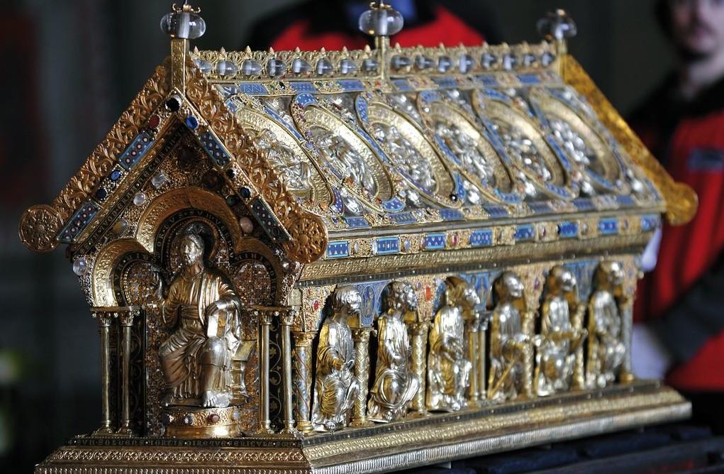Il reliquiario di San Mauro, di inestimabile valore