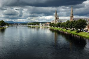 Fiume Ness a Inverness