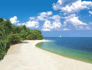 Umago, la spiaggia di Kanegra