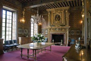 Il soggiorno del Castello di Cheverny