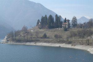Val di Ledro, il lago e la sua costa