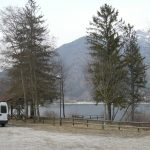 Val di Ledro, sosta lungo il lago