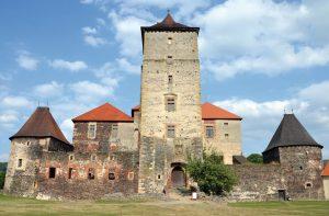il castello sull'acqua di Svihov