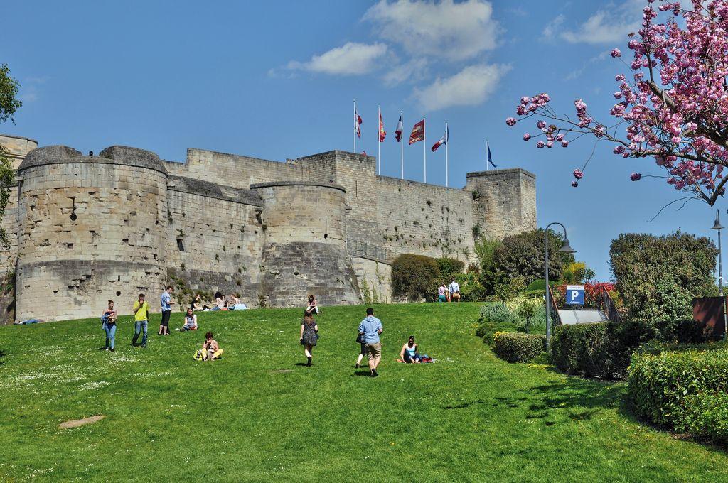 Il Castello di Caen