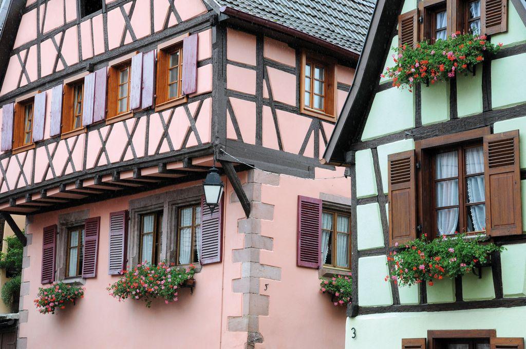 Una vecchia casa a Ribeauville