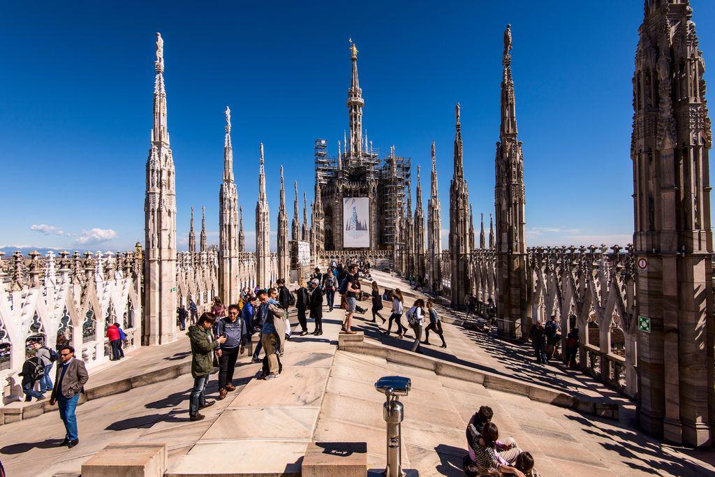 Imperdibile la visita delle terrazze del Duomo di Milano