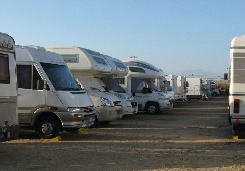 Area sosta camper Mondragone - La duna