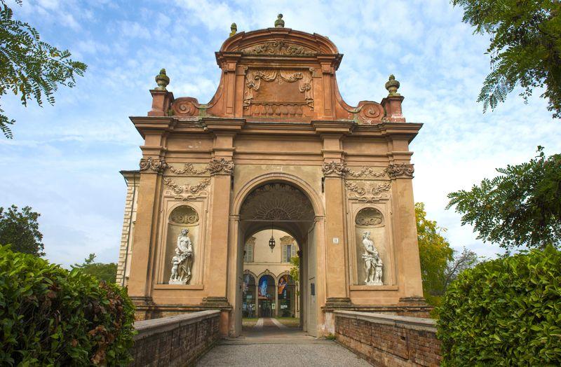 Busseto entrata Museo Verdi