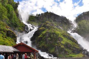 Latefossen cascata NORVEGIA