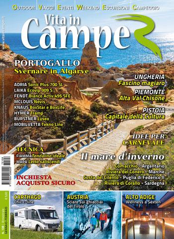 Copertina Vita in Camper 108