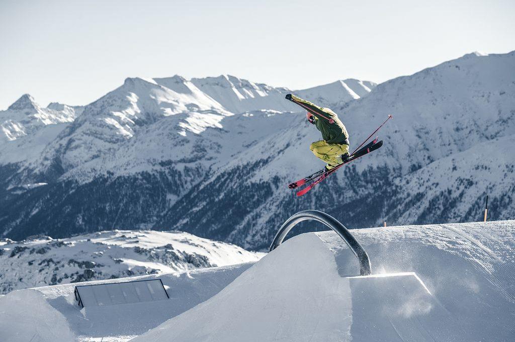 Corviglia Snowpark © Engadin St. Moritz Mountains_Aestivation