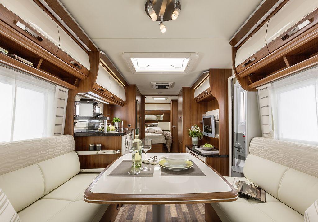 La gamma pep tabbert caldi ed eleganti interni vita in camper - Scale eleganti per interni ...
