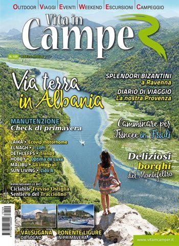 Copertina Vita in Camper 109