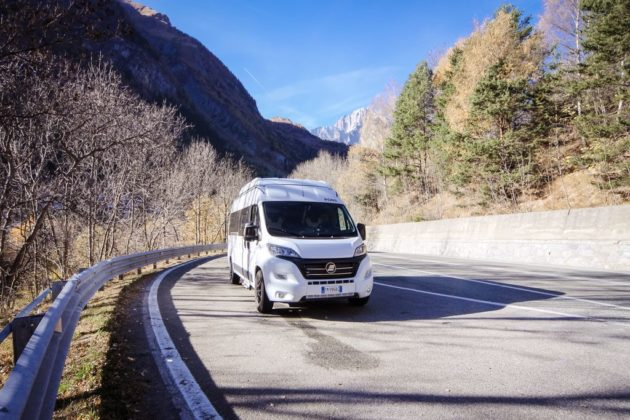Hymer Grand Canyon esterno frontale