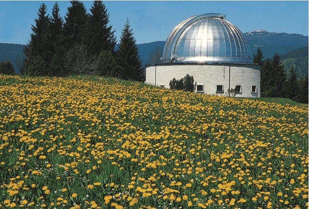 La cupola dell'osservatorio