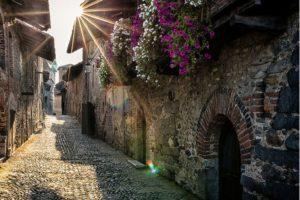 Candelo: un'oasi di pace medievale in camper