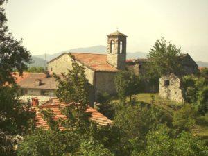 Badia Tedalda, panoramica sul borgo