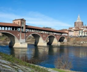 Pavia, il ponte coperto