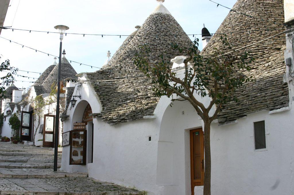 I tipici trulli di Alberobello
