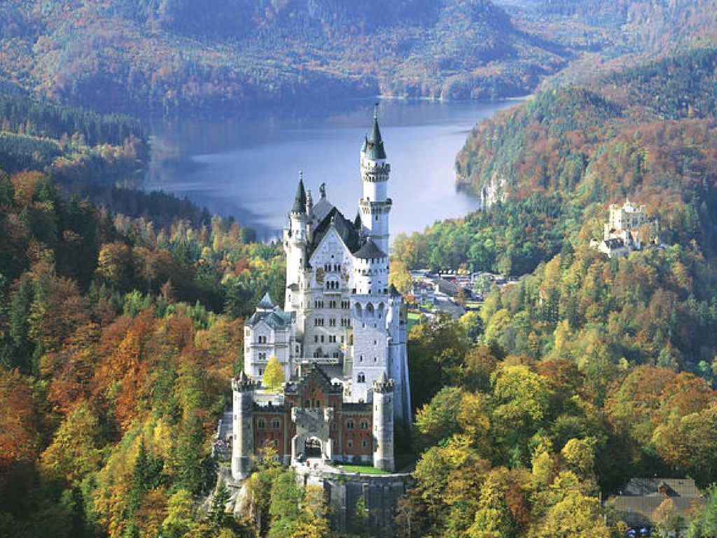 Tour dei castelli della Baviera