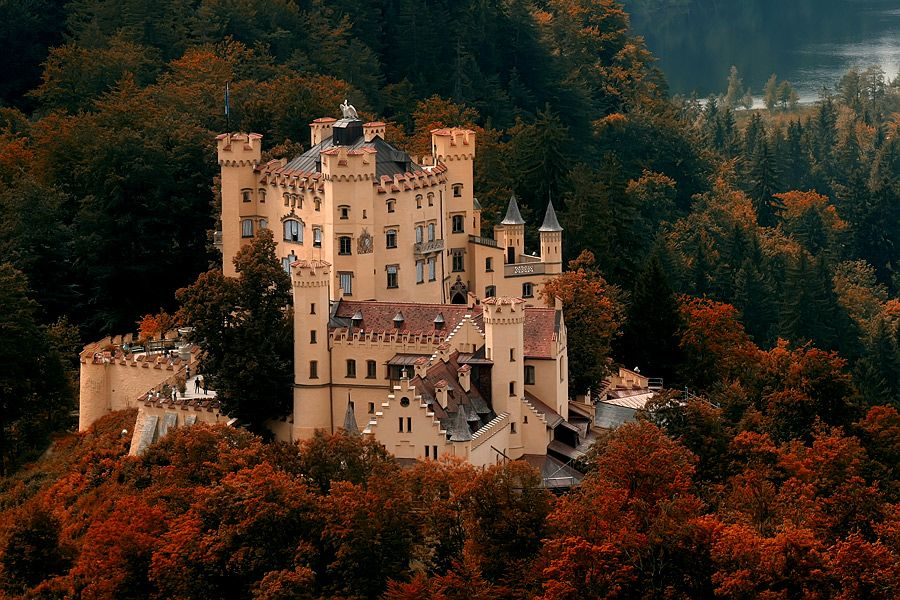 castello-Hohenschwangau foto Monaco-Baviera.net