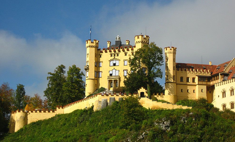 castello di Hohes Schloss foto bavaria.by