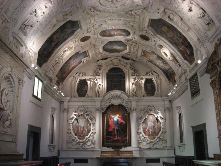 Cagli, interno Chiesa di San Giuseppe