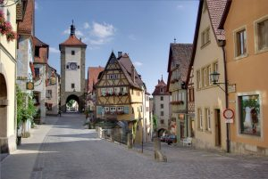 Rothenburg, Strada Romantica