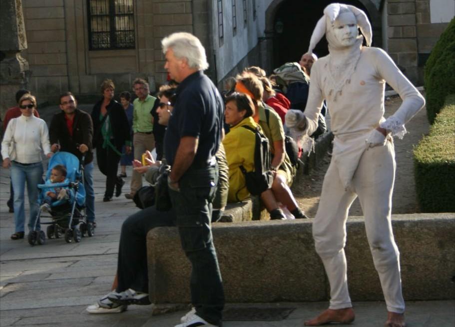 Per le strade di Santiago