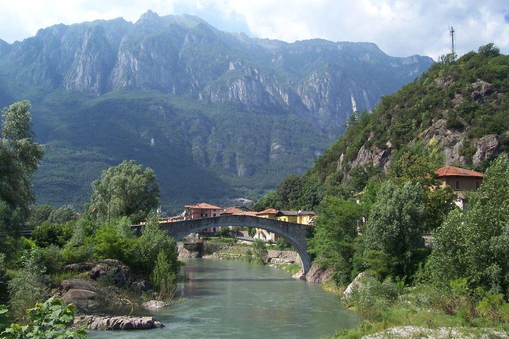 Ponte di Montecchio a Darfo Boario Terme (Foto Luca Giarelli